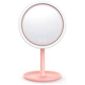 永山 EISAN LED Windy MakeUp Beauty Mirror PI ELBLED-FANMIRROR-01 ピンク