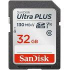 サンディスク SanDisk SDHCカード Ultra PLUS(ウルトラ プラス) SDSDUW3-032G-JNJIN [32GB /Class10][SDSDUW3032GJNJIN]