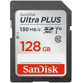 サンディスク SanDisk SDXCカード Ultra PLUS(ウルトラ プラス) SDSDUW3-128G-JNJIN [128GB /Class10][SDSDUW3128GJNJIN]