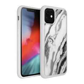 LAUT ラウ iPhone 11 6.1インチ LAUT ミネラルグラス ミネラルホワイト L_IP19M_MG_W