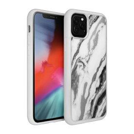 LAUT ラウ iPhone 11 Pro Max 6.5インチ LAUT ミネラルグラス ミネラルホワイト L_IP19L_MG_W