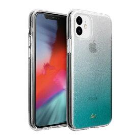 LAUT ラウ iPhone 11 6.1インチ LAUT オンバー スパークル ミント L_IP19M_OS_MT