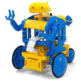 タミヤ TAMIYA チェーンプログラムロボット工作セット(ブルー/イエロー)