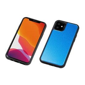 DEFF ディーフ iPhone 11 6.1インチ 用 HYBRID CASE Etanze 化学強化ガラス&TPU複合素材ケース ブルー BKS-IPE19MMBU