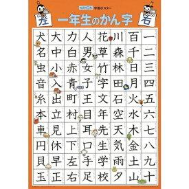 くもん出版 GP-51 学習ポスター 一年生のかん字