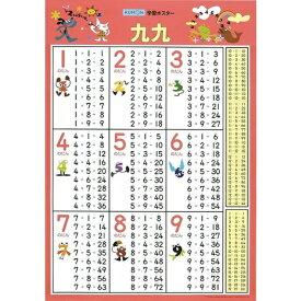 くもん出版 GP-41 学習ポスター 九九