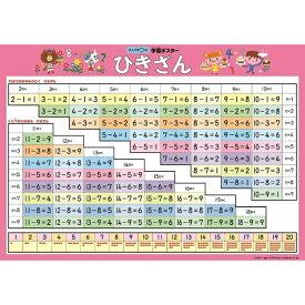 くもん出版 GP-101 学習ポスター ひきざん