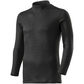 ミズノ mizuno メンズ ブレスサーモ BREATH THERMO アンダーウエアプラスハイネック長袖シャツ(Mサイズ/ブラック) C2JA9642