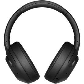 ソニー SONY ブルートゥースヘッドホン ブラック WH-XB900N BC [リモコン・マイク対応 /Bluetooth /ノイズキャンセリング対応][ワイヤレスヘッドホン WHXB900NBC]