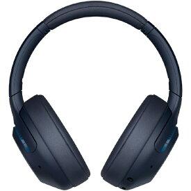 ソニー SONY ブルートゥースヘッドホン ブルー WH-XB900N LC [リモコン・マイク対応 /Bluetooth /ノイズキャンセリング対応][WHXB900NLC]