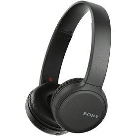ソニー SONY ブルートゥースヘッドホン ブラック WH-CH510 BZ [リモコン・マイク対応 /Bluetooth][ワイヤレスヘッドホン][WHCH510BZ]