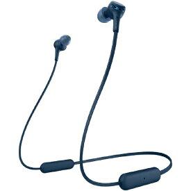ソニー SONY ブルートゥースイヤホン EXTRA BASS ブルー WI-XB400 LZ [リモコン・マイク対応 /ネックバンド /Bluetooth][ワイヤレスイヤホン WIXB400LZ]