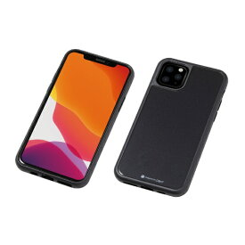 DEFF ディーフ iPhone 11 Pro Max 6.5インチ 用 HYBRID CASE Etanze 化学強化ガラス&TPU複合素材ケース ブラック BKS-IPE19LMBK