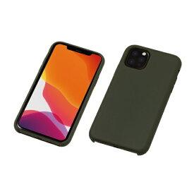 DEFF ディーフ iPhone 11 Pro 5.8インチ用 シリコンハードCASE <CRYTONE: クレトーン> ダークオリーブ BKS-IPS19SOL