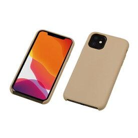 DEFF ディーフ iPhone 11 6.1インチ 用 シリコンハードCASE <CRYTONE: クレトーン> グレージュ BKS-IPS19MGE