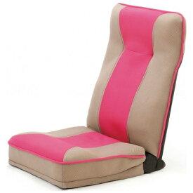 ファミリーライフ Family-life <整体師さんが推奨する>健康ストレッチ座椅子 0373610 ピンク