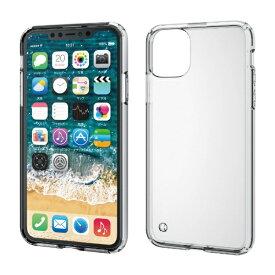 エレコム ELECOM iPhone 11 Pro Max 6.5インチ ハイブリッドケース クリア PM-A19DHVCCR
