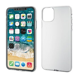 エレコム ELECOM iPhone 11 Pro Max 6.5インチ ソフトケース フォルティモ 極み クリア PM-A19DUCT2CR