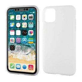 エレコム ELECOM iPhone 11 6.1インチ対応 ハイブリッドケース シリコン クリア PM-A19CHVSCCR