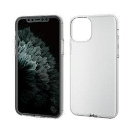 エレコム ELECOM iPhone 11 Pro 5.8インチ対応 ソフトケース フォルティモ 極み クリア PM-A19BUCT2CR