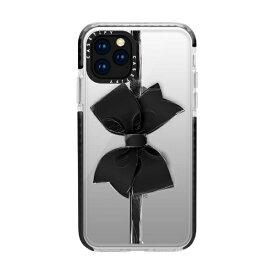 CASETIFY ケースティファイ iPhone 11 Pro 5.8インチ Black Bow CTF-3389815-16000086