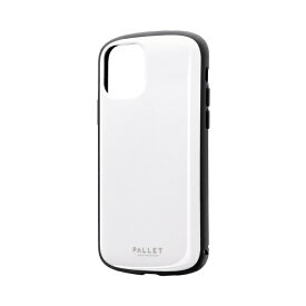MSソリューションズ iPhone 11 Pro 5.8インチ PALLET AIR 耐衝撃ケース ホワイト LP-IS19PLAWH