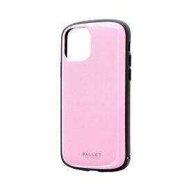 MSソリューションズ iPhone 11 Pro 5.8インチ PALLET AIR 耐衝撃ケース ピンク LP-IS19PLAPK
