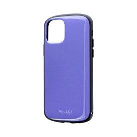 MSソリューションズ iPhone 11 Pro 5.8インチ PALLET AIR 耐衝撃ケース パープル LP-IS19PLAPP