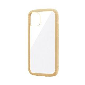 MSソリューションズ iPhone 11 Pro 5.8インチ PALLET CLEAR 耐衝撃ケース ベージュ LP-IS19PLCBG