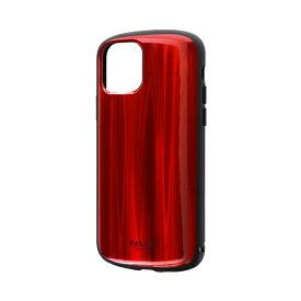 MSソリューションズ iPhone 11 Pro 5.8インチ PALLET METAL 耐衝撃ケース レッド LP-IS19PLMRD