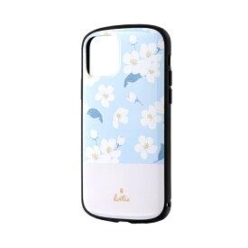 MSソリューションズ iPhone 11 Pro 5.8インチ PALLET Katie 耐衝撃ケース フラワーサックス LP-IS19PLKA
