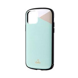 MSソリューションズ iPhone 11 Pro 5.8インチ PALLET Katie 耐衝撃ケース パステルミント LP-IS19PLKC