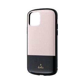 MSソリューションズ iPhone 11 Pro 5.8インチ PALLET Katie 耐衝撃ケース ツートンベージュ LP-IS19PLKG