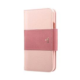 MSソリューションズ iPhone 11 Pro 5.8インチ PREMIER Katie 手帳型ケース ピンク LP-IS19PREKPK