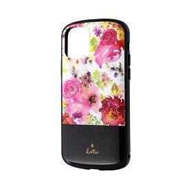 MSソリューションズ iPhone 11 Pro 5.8インチ PALLET Katie 耐衝撃ケース フラワーピンク LP-IS19PLKO