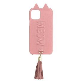 CCCフロンティア CCC FRONTIER iPhone 11 Pro 5.8インチ ケース Tassel Tail Cat Case pink UNI-CSIP19S-2TTCPK