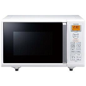 東芝 TOSHIBA オーブンレンジ ER-T16-W ホワイト ER-T16-W ホワイト[ERT16W]