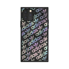 アディダス adidas iPhone 11 Pro 5.8インチ OR SQUARE CASE black/holographic 36361