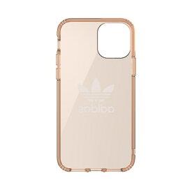 アディダス adidas iPhone 11 Pro 5.8インチ OR Protective Clear Case Big Logo roseGD 36413