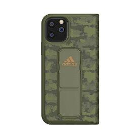 アディダス adidas iPhone 11 Pro 5.8インチ SP Folio grip case CAMO Tech olive 36436
