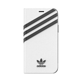 アディダス adidas iPhone 11 Pro 5.8インチ OR Booklet Case SAMBA white/black 36542