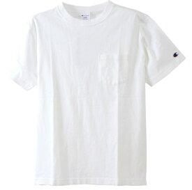 チャンピオン CHAMPION メンズ 半袖シャツ Tシャツ(Mサイズ/ホワイト) C3-M349