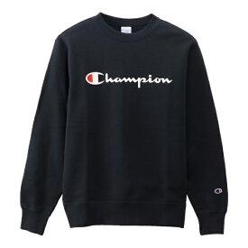 チャンピオン CHAMPION メンズ スウェット クルーネックスウェットシャツ (Mサイズ/ネイビー) C3-Q002