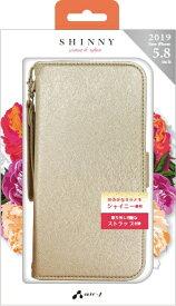 エアージェイ air-J iPhone 11 Pro 5.8インチ シャイニー手帳型 SG ACP19SSHYSG