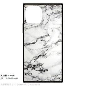 アピロス apeiros iPhone 11 Pro 5.8インチ TILE 大理石 WHITE PEI13-TL01-WH