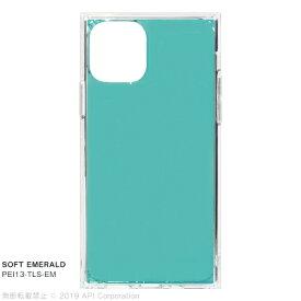 アピロス apeiros iPhone 11 Pro 5.8インチ TILE SOFT EMERALD PEI13-TLS-EM