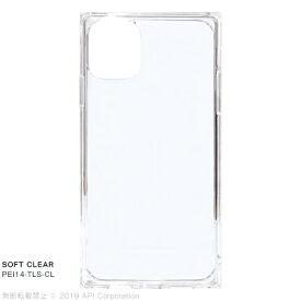 アピロス apeiros iPhone 11 6.1インチ TILE SOFT CLEAR PEI14-TLS-CL
