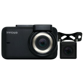 NH Technology ドライブレコーダー innowa Journey Plus 9003 [一体型 /Full HD(200万画素) /前後カメラ対応 /駐車監視機能付き][9003]