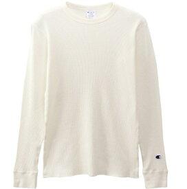 チャンピオン CHAMPION メンズ ロングスリーブTシャツ(Lサイズ/ホワイト) C3-Q405