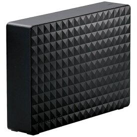 エレコム ELECOM SGD-MY060UBK 外付けHDD タイムシフトマシン対応 Expansion ブラック [据え置き型 /6TB][SGDMY060UBK]